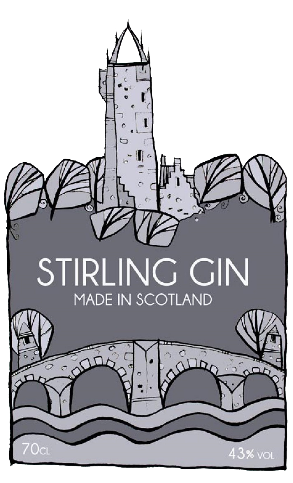 Stirling Gin logo