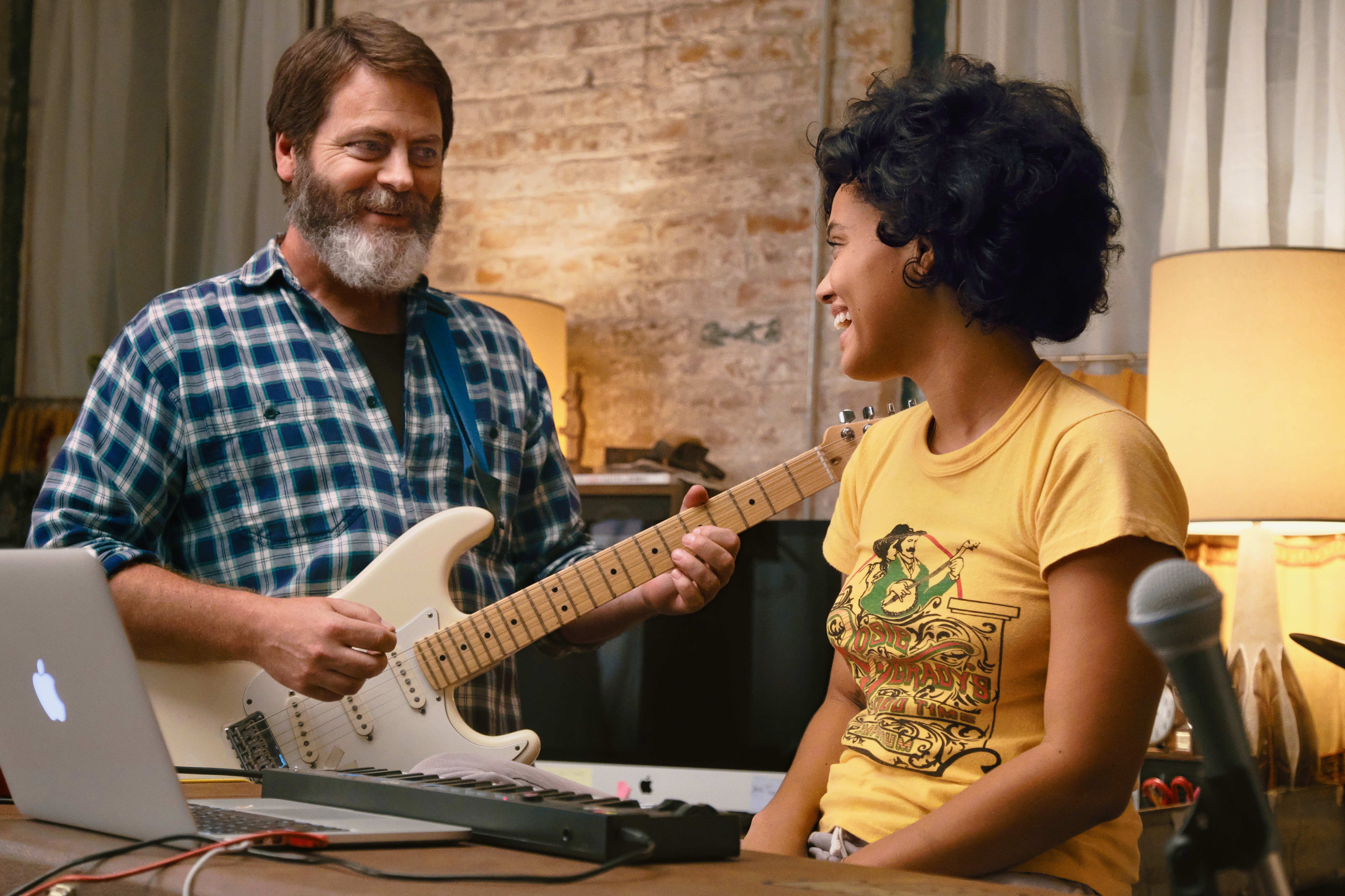 Nick Offerman and Kiersey Clemons star in Hearts Beat Loud
