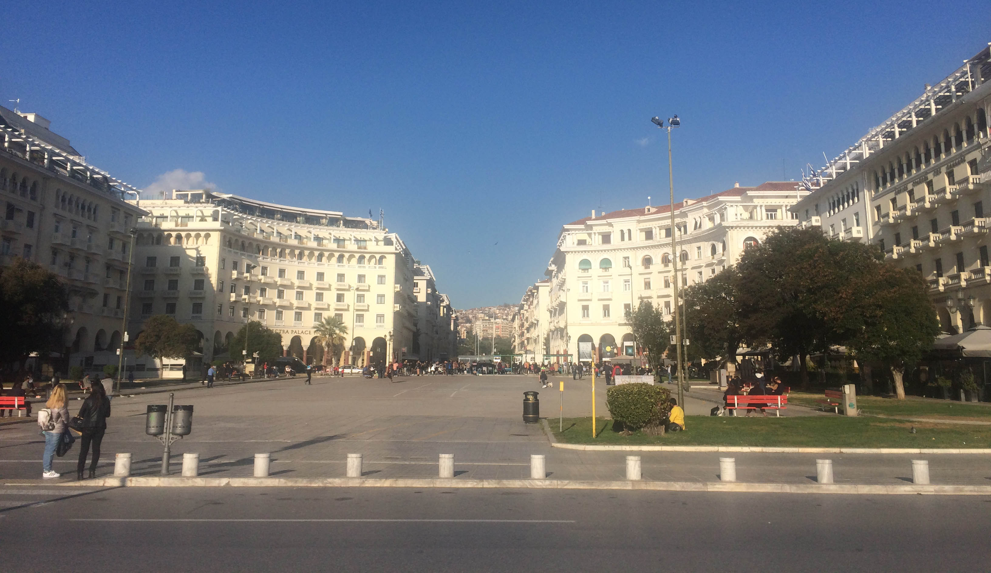 Main square in Thessaloniki