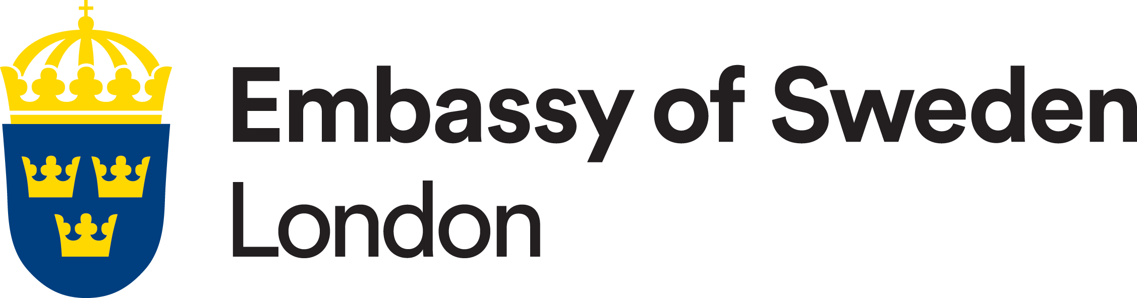 London Embassy of Sweden Logo
