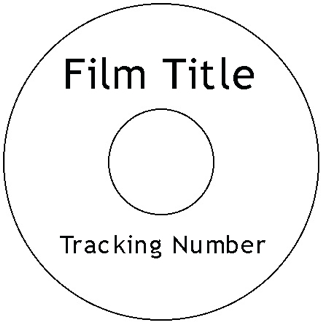 How to label DVD