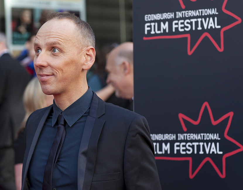 Ewen Bremner on the red carpet at EIFF