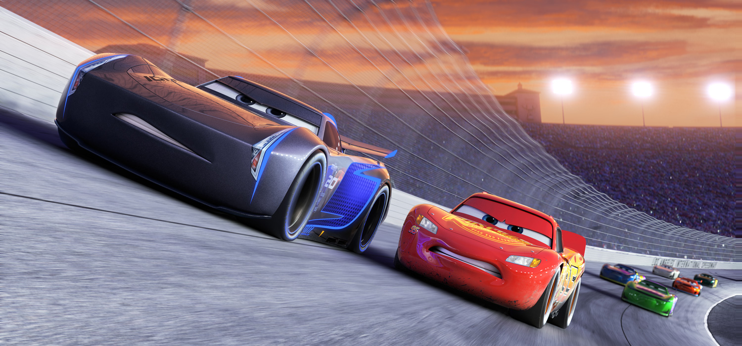 Scene from Cars 3